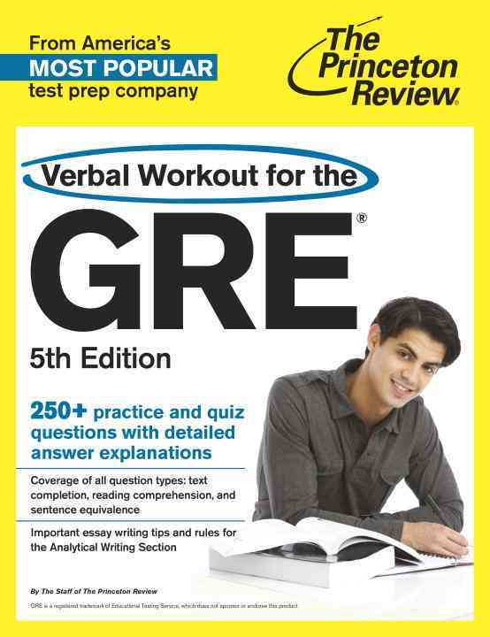 Princeton Review Verbal Workout for the GRE By Princeton Review (COR)